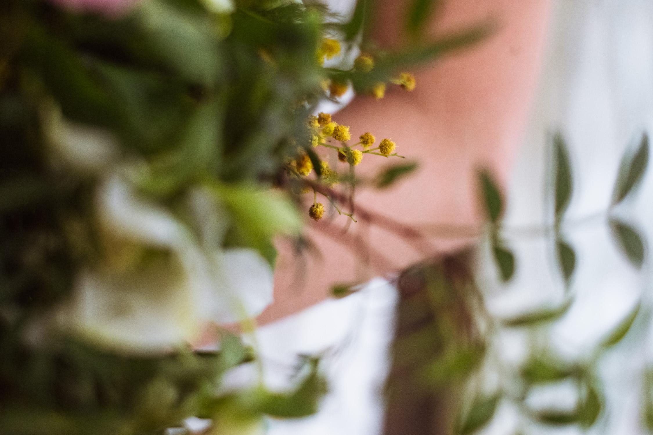 Delicate engagement bouquet